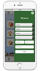 App per agenzia immobiliare